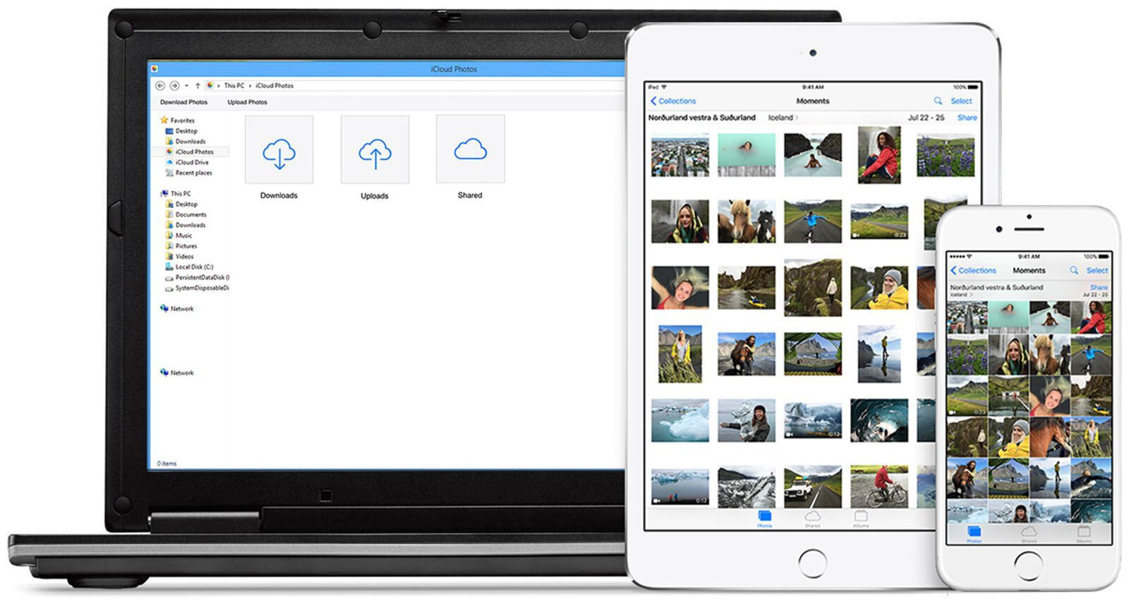 İlk yöntemde bilgisayar kullanarak iPhone'lardaki fotoğrafları aktarma işlemi gerçekleştirilebiliyor.