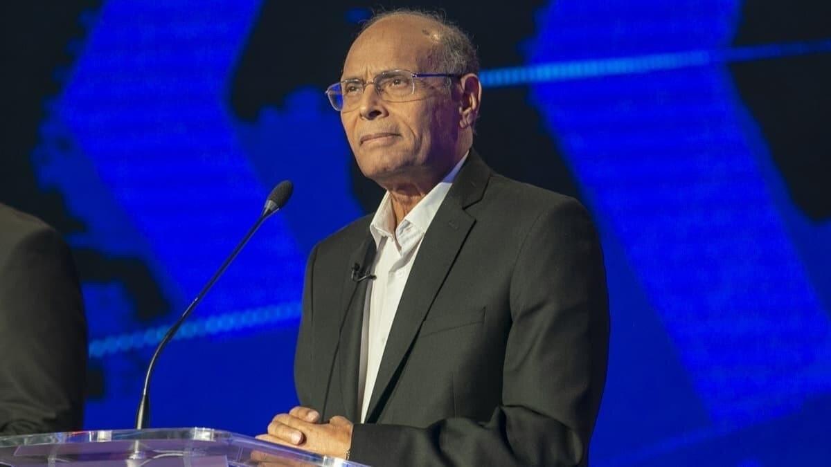 Tunus'un eski Cumhurbaşkanı Munsif el-Merzuki.