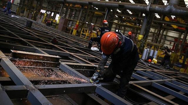 Sanayide kapasite kullanım oranı yüzde 77'ye yaklaştı