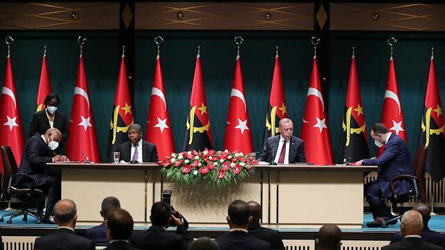Cumhurbaşkanı Erdoğan: İş adamlarımızla Angola'ya gideceğiz