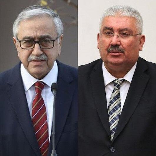 MHP'li Semih Yalçın'dan Devlet Bahçeli'yi hedef alan Mustafa Akıncı'ya: EOKA artığı Akıncı!