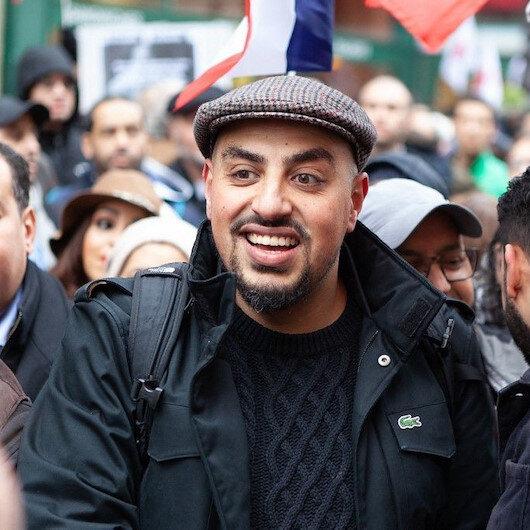 Fransa'da insan hakları uzmanı Marwan Muhammad TRT'ye röportaj verdiği için hedef gösterildi