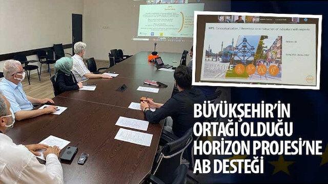 Büyükşehir'in ortağı olduğu Horizon Projesi'ne AB desteği