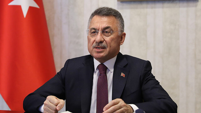 Cumhurbaşkanı Yardımcısı Fuat Oktay'dan Manavgat açıklaması: Tüm imkanlarla müdahale ediliyor