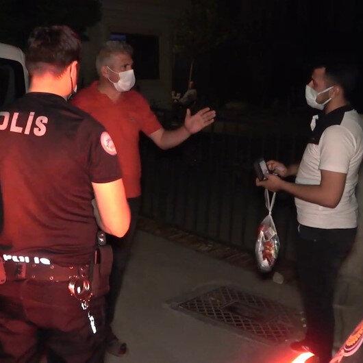 Polis caddede dolaşırken yakaladı: Karantinayı ihlal eden vatandaşı HES kodu ele verdi