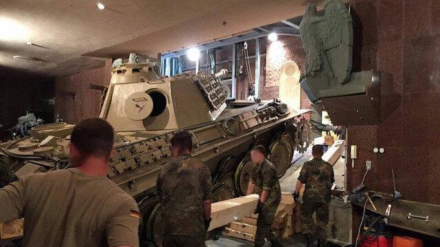 Almanya bunu konuşuyor: Evinin bodrumunda 2. Dünya Savaşı'ndan kalma tankı sakladı