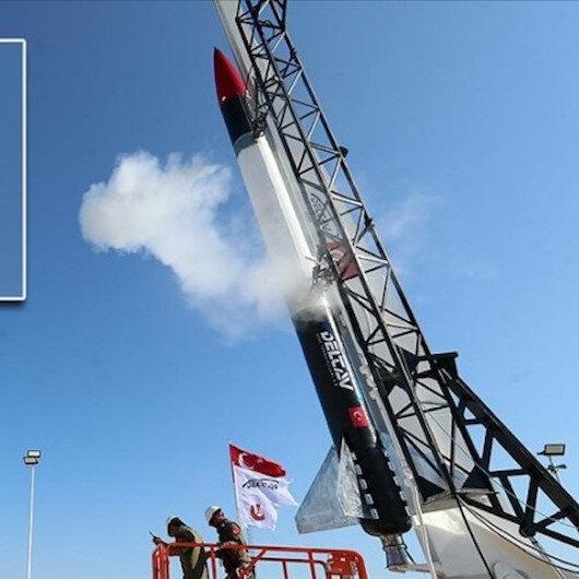 """اختبارات ناجحة لمحرك صاروخ تركي سيستخدم في """"مهمة القمر"""""""