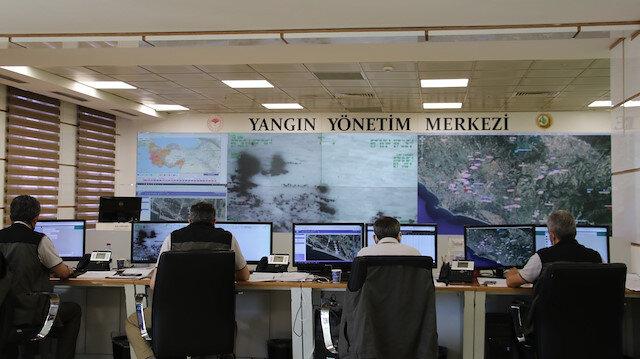 Türkiye'nin ormanları buradan izleniyor