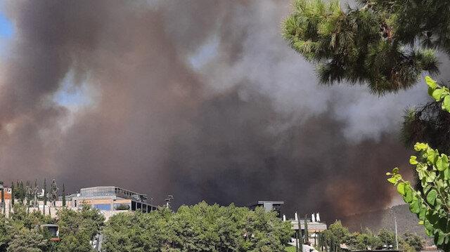 Bakan Pakdemirli: Son 2 günde 17 ilde 58 orman yangını