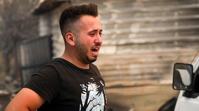 Manavgat'taki yangında can veren Kardaş çiftinin oğlu: 'Yetiş oğlum' dedi yetişemedim