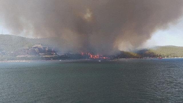 Bodrum'da çıkan orman yangına ilişkin soruşturma başlatıldı