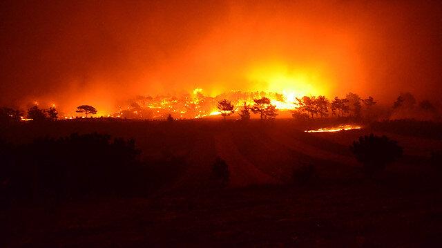 Antalya'da bir orman yangını daha: Altı mahallede bazı evler boşaltıldı