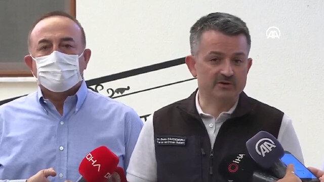 Pakdemirli: Antalya'daki yangında bir kişi hayatını kaybetti