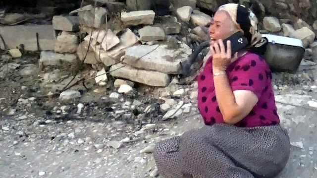 Manavgat'taki yangın felaketinde yürek yakan feryat: Allah'ım böyle acı mı olur?