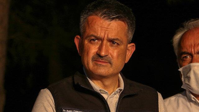 Tarım ve Orman Bakanı Pakdemirli: Kütahya ve Kilis'teki yangınlar kontrol altında
