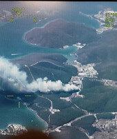Yangın bölgelerine uçuşu olanlara değişiklik ve iade hakkı
