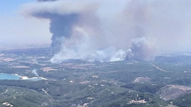 Adana Aladağ'daki orman yangınına müdahale ediliyor: Sabahın ilk ışıklarıyla müdahale başladı