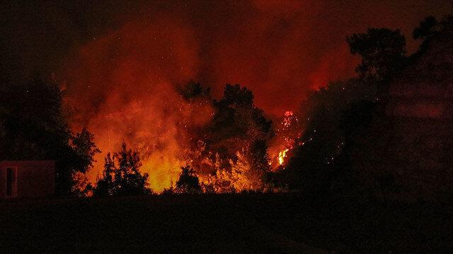 Yangınlarda 3. gün: 57 yangın kontrol altına alındı