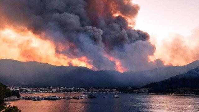 Marmaris'teki yangını başlattıkları iddia edilen 2 çocuk pedagoga konuştu: Kitap yakarken alev çoğaldı söndüremeyince kaçtık
