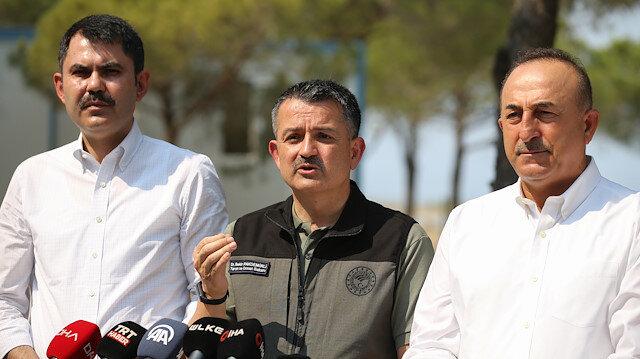 Tarım ve Orman Bakanı Pakdemirli'den THK uçakları açıklaması