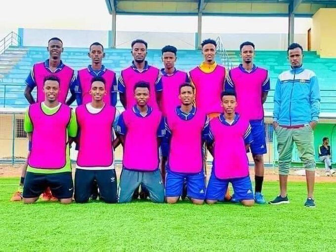 JCCI takımı futbolcuları