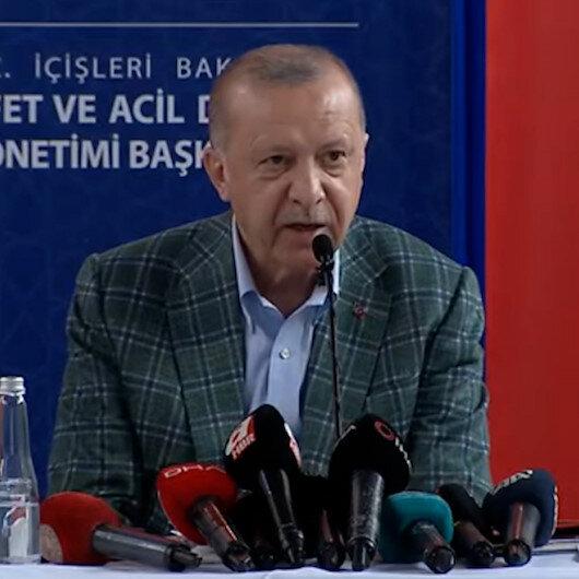 Cumhurbaşkanı Erdoğan: Hiçbir vatandaşımızın mağdur olmasına izin vermeyeceğiz