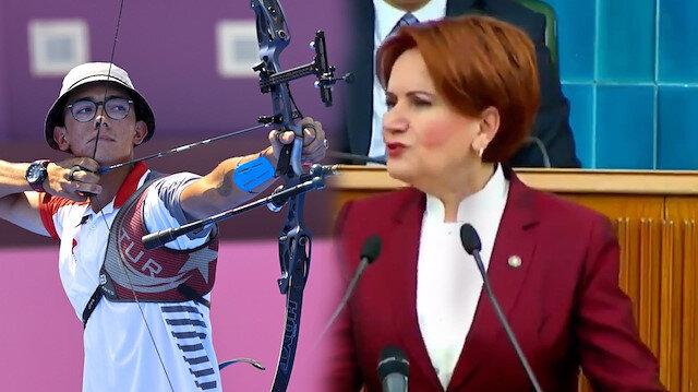 Mete Gazoz'un altın madalyası İYİ Parti lideri Meral Akşener'i hüsrana uğrattı