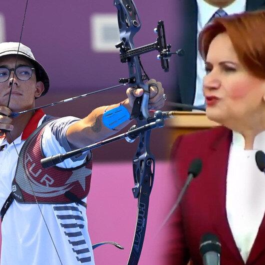 Mete Gazozun altın madalyası İYİ Parti lideri Meral Akşeneri hüsrana uğrattı