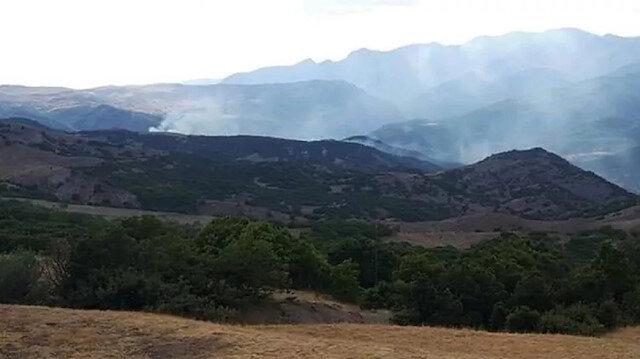 Tunceli Valiliğinden sosyal medyadaki yangın iddialarına yalanlama geldi