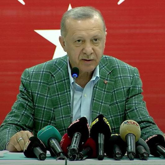 Cumhurbaşkanı Erdoğan Genel Hayata Etkili Afet Bölgesinde vatandaşlara yapılacak yardımları tane tane anlattı