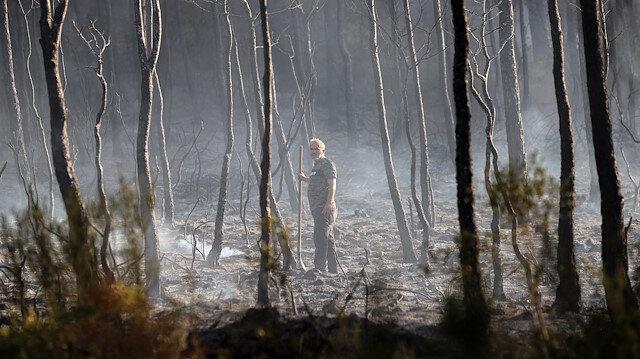 5 ildeki yangın alanları afet bölgesi ilan edildi