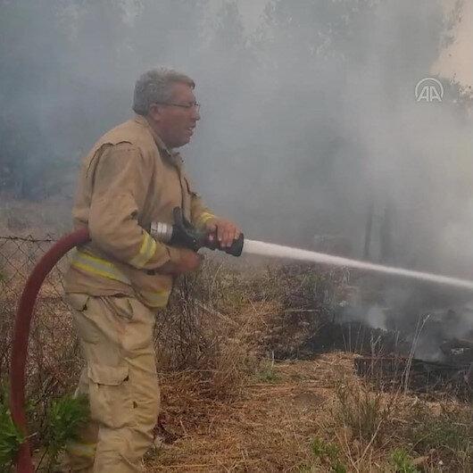Şehit orman işçisi Yaşar Cinbaşın son görüntüleri