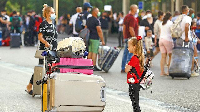 Turizm geliri 3 milyar doları aştı