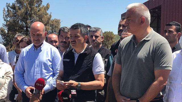 İçişleri Bakanı Soylu: 300'e yakın ihbar geldi her biriyle ilgileniyoruz