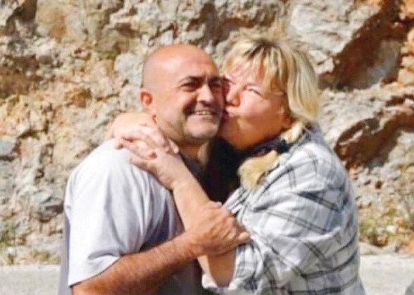 Fahri ile eşi Andrea Yiğitokur
