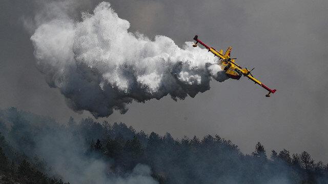 AB'den Türkiye'ye orman yangınları için uçak desteği
