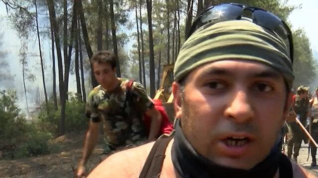 Azerbaycan yangın söndürme ekipleri: Biz biliyoruz ki Azerbaycan'da yangın başlarsa Türkiye'nin uçakları itfaiyeleri orada olur