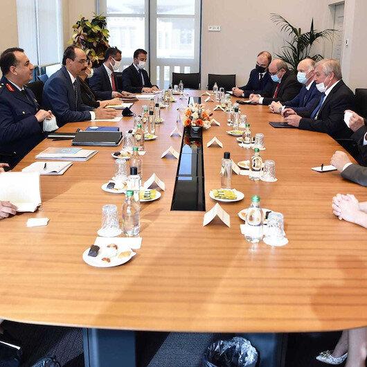 Cumhurbaşkanlığı Sözcüsü Kalın Rusya Federasyonu Suriye Özel Temsilcisi Lavrentiyev ile görüştü