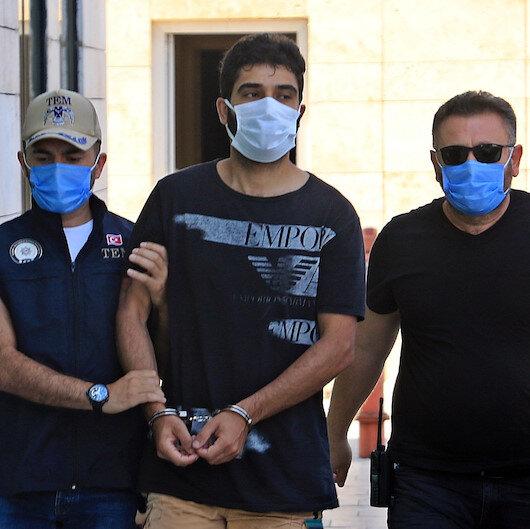 Eşine şiddetten gözaltına alındı DEAŞ üyesi çıktı