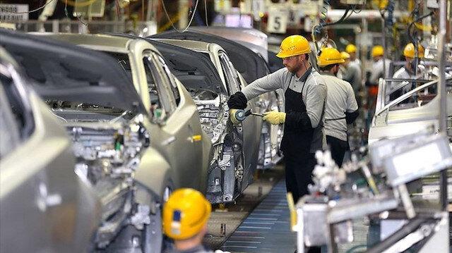 2020 yılında 1 milyon 110 binden fazla araç üretildi