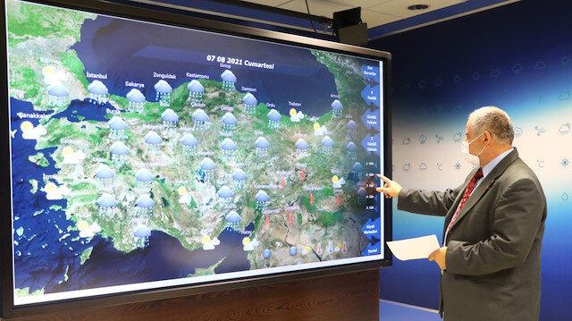 Meteorolojiden Antalya ve çevresi için yağış tahmini