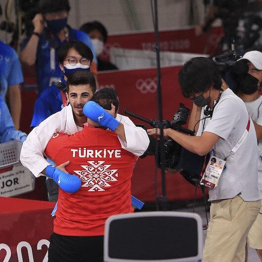 أولمبياد طوكيو.. التركي شامدان يحرز فضية كاراتيه كوميتيه