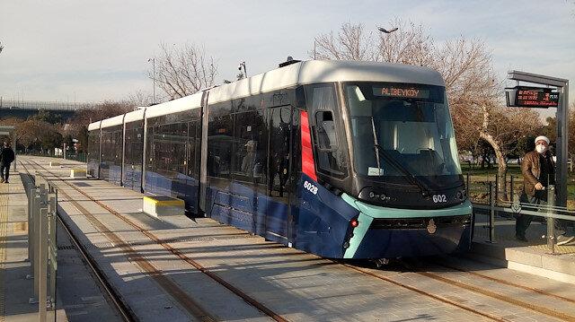 T5 Cibali-Alibeyköy tramvay hattında enerji kesintisi: Seferler bir süreliğine durdu