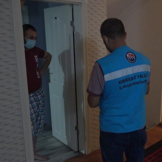 Koronalı hasta otelde yakalandı: 4 bin 50 lira ceza uygulandı