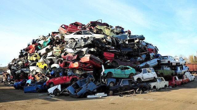 Hurda araçlar kullanılmaya devam ediyor: 2020'de sadece 3 bin araç hurdaya ayrıldı