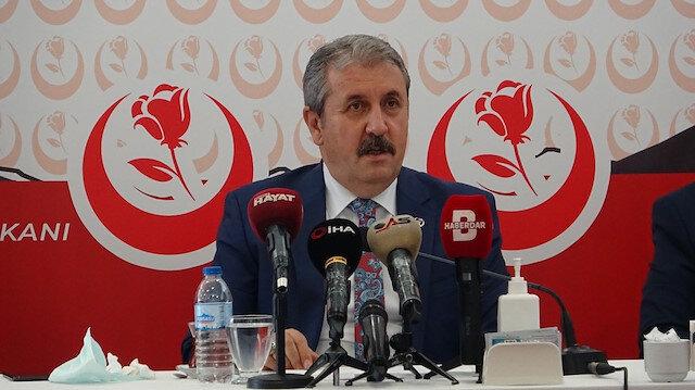Mustafa Destici: HDP'yi kapatmak yetmez her şeyini kapatmak zorundayız