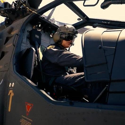 Jandarmaya 7nci ATAK helikopteri teslim edildi
