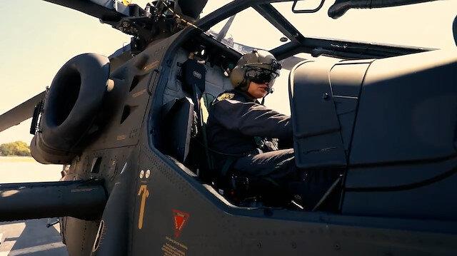 Jandarmaya 7'nci ATAK helikopteri teslim edildi