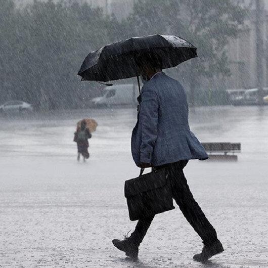 Meteoroloji uyardı: Batı ve Orta Karadeniz'de kuvvetli yağış bekleniyor