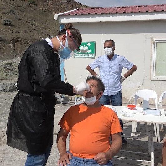 Kırıkkale'de YHT şantiyesinde korona virüs alarmı: 7 işçi karantinaya alındı
